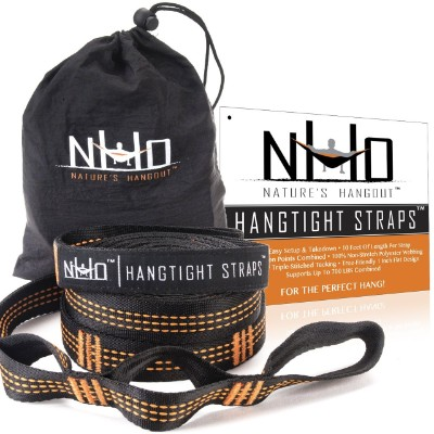 HangTight Extra Strong Hammock Straps, 20 ft