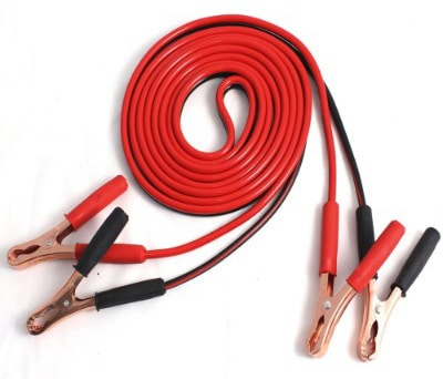 OxGord Commercial Grade 25 Feet Jumper Cable, 8 Gauges