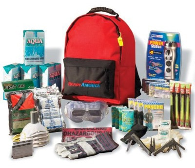 Ready America 70385 4-Person Deluxe Emergency Kit
