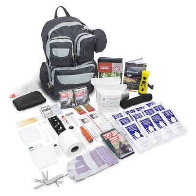 Emergency Zone 840-2 Urban Emergency Disaster Kit for 2 Person, Black