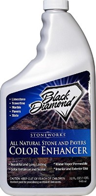 Black Diamond Stoneworks Natural Stone Color Enhancer Sealer