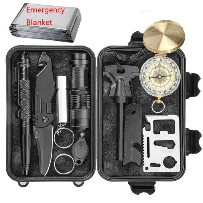 CHANGKU 11-in-1 Emergency Survival Kits