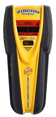 Zircon MultiScanner i520-FFP Center Finding Stud Finder with Metal and Live AC Wire Detection
