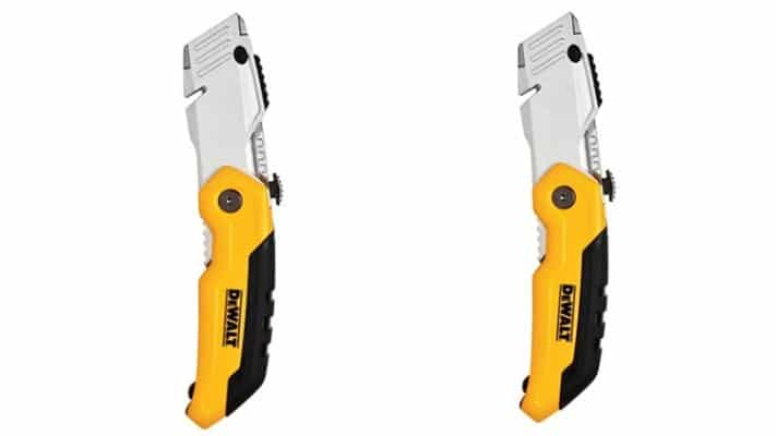 DEWALT DWHT10035L Retractable Folding Utility Knife (Pack of 2)