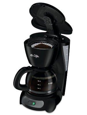 Mr. Coffee Switch Coffee Maker, 4-Cup, Black