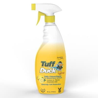 Tuff Duck Granite Marble Quartz Countertop Cleaner Sealer 24 Oz.