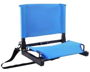 Stadium Seats :Stadium Chairs Bleacher Seats with Bungee Cord Cushion and Comfortable Backrest