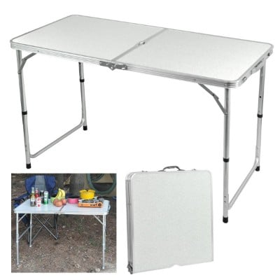 Yaheetech Aluminium Folding Portable Camping Picnic Party Dining Table