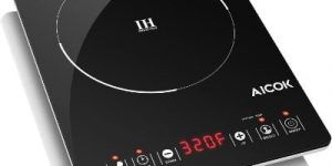 Aicok Portable Induction Cooktop, Black