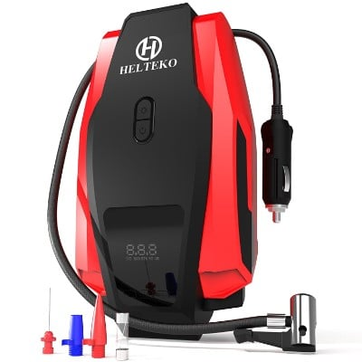 Helteko 12V 150PSI Portable Digital Tire inflator