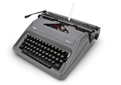 Royal Epoch Manual Typewriter, Gray