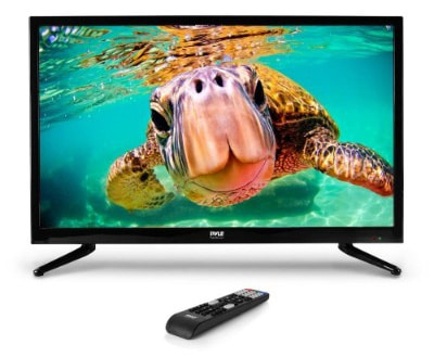 Pyle 32 Inch LED TV HD Television & Monitor with Full HD 1080p Support