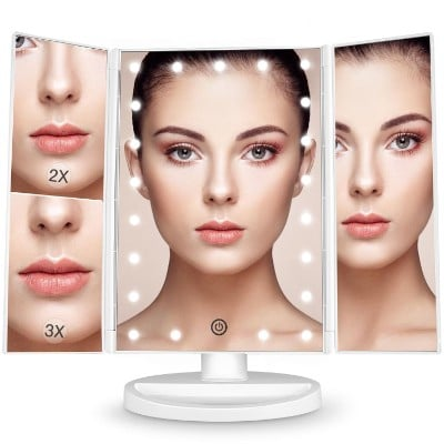 Bestope Makeup Vanity Mirror with 21 LED Lights