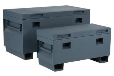 TRINITY TXKPGR-0502 Job Site Box, 36, Gray