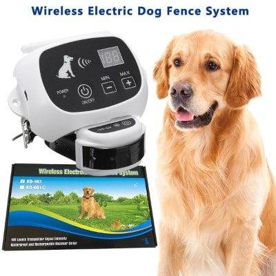 Invisible Waterproof Wireless Dog Fence System