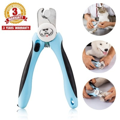 Bencmate Pet Nail Clippers for Dogs Cats Small Animals, Trimmers