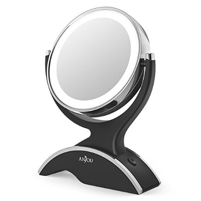 Makeup Mirror LED Lighted with 1X : 7X Magnification