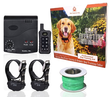 Pet Control HQ Remote Dog Training Collar, Rechargeable and Waterproof