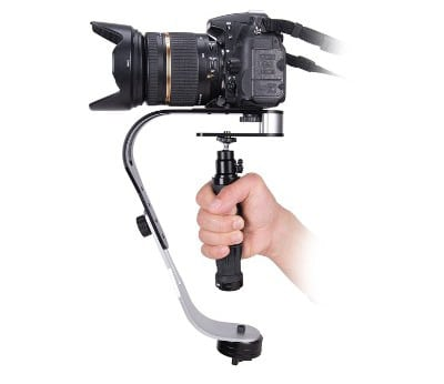 Pinty Handheld Video Camera Stabilizer for GoPro (Black)