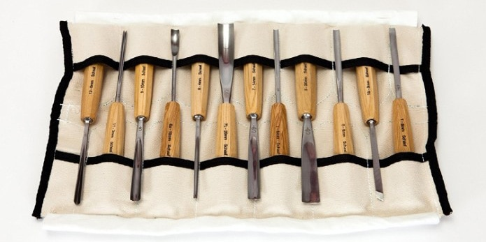 SCHAAF Full Size Wood Carving Tools, Set of 12