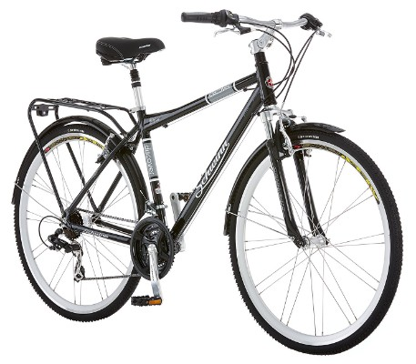 Schwinn Discover Men's Black Hybrid Bike (700C Wheels)