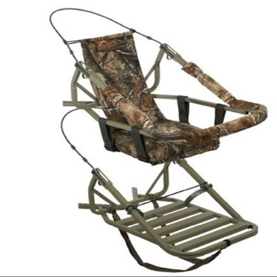 Summit 81052 Viper Steel Self-Climbing Tree Stand, Camouflage Finish