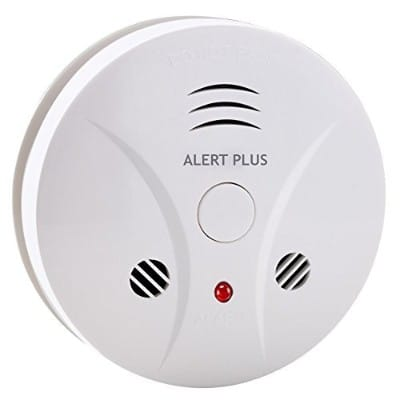 Smoke and Carbon Monoxide Detector Photoelectric