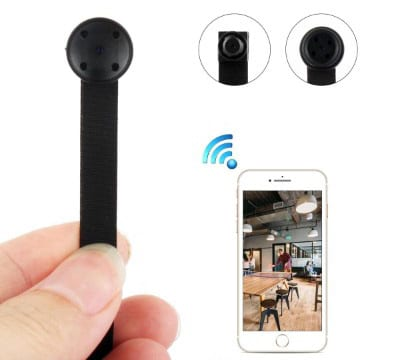 Wireless HD 1080P Spy Camera with Motion Detection