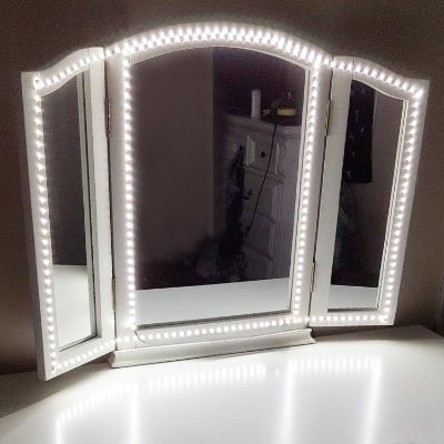 Led Vanity Mirror Lights Kit, ViLSOM 13ft:4M 240 LEDs