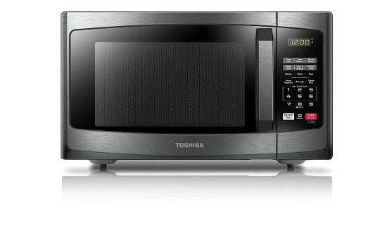 Toshiba EM925A5A-BS Microwave Oven with Sound On:Off and ECO Mode,0.9 Cu.ft. 900W