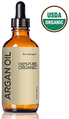 USDA Certified Organic Argan Oil by Eve Hansen