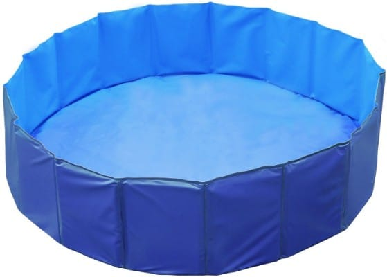 GPCT [48 INCH] Foldable:Portable [Collapsible] Large Dog Pet Bathing Swimming Pool