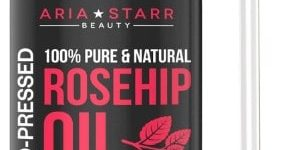 Aria Starr Rosehip Seed Oil Cold Pressed For Face, Skin & Scars