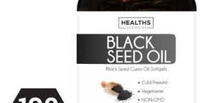 Best Black Seed Oil 120 Softgel Capsules (NON-GMO & Vegetarian)