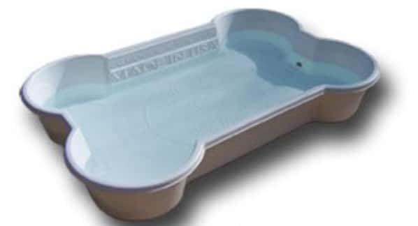 One Shaped Play Pool for Dogs