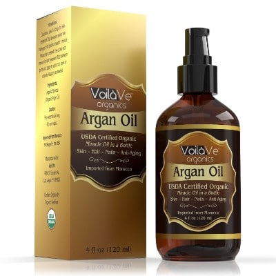 Virgin USDA Organic Moroccan Argan Oil for Hair & Skin