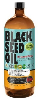 Premium Black Seed Oil Cold Pressed - Glass Bottle - 16 oz