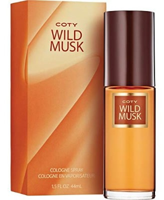 Coty Wild Musk Cologne Spray 1.5 Ounce Women's Fragrance