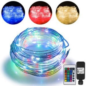 66ft Led Rope Lights Outdoor String Lights with 200 LEDs