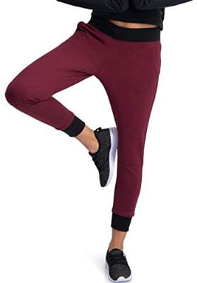 Dry Fit Sweatpants for Women - Yoga Crop Joggers