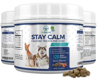 BioSummit Labs 120 Dog Calming Treats