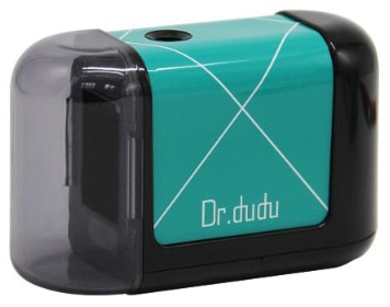 DR.DUDU Electric Pencil Sharpener, Automatic Sharpener for NO.2 Pencils and Colored Pencils