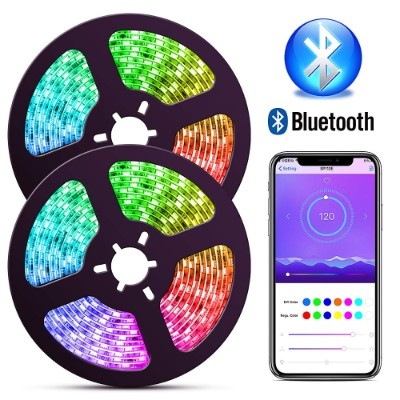 ELlight Bluetooth Dream Color LED Strip Lights with APP