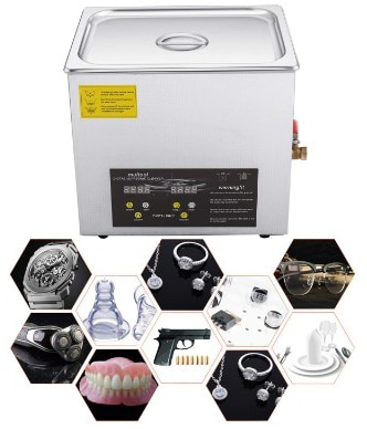 Stainless Steel Ultrasonic Cleaner with Digital Heater Timer