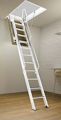 Rainbow F3060-10 - 30L x 60W F-Series Attic Ladder:Stair 9'4H - 10'4H