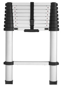 Cosco 20309T1ASE Smartclose Telescoping Aluminum Ladder