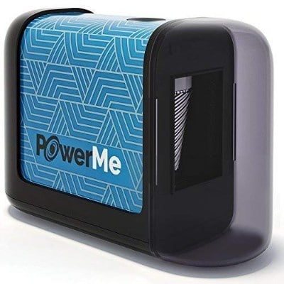 PowerMe Electric Pencil Sharpener - Battery Operated