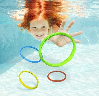 Aqua Dive Rings Pool Toy