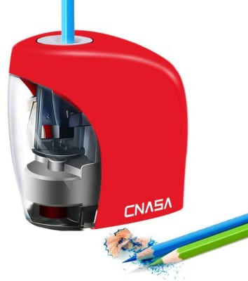 Electric Pencil Sharpener, Electrical Automatic Sharpener for NO.2 Pencils and Colored Pencils