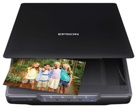Epson Perfection V39 Color Photo & Document Scanner